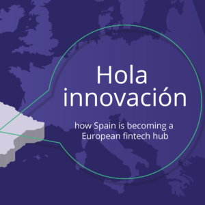 Supporting an article on the fintech and payments innovation in Spain