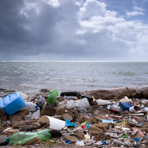 An epidemic of beach plastic is one of the drivers behind Marqeta's goal to achieve plastic neutrality